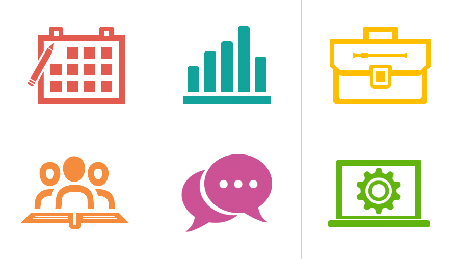 teaching resource category icons